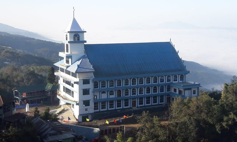 Manipur gets one of its biggest churches in Tamenglong