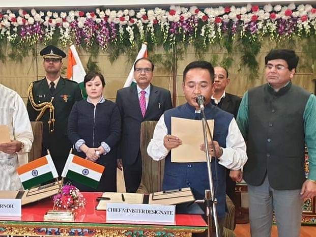 Why PS Golay took oath as Sikkim CM for 2nd time late in the night