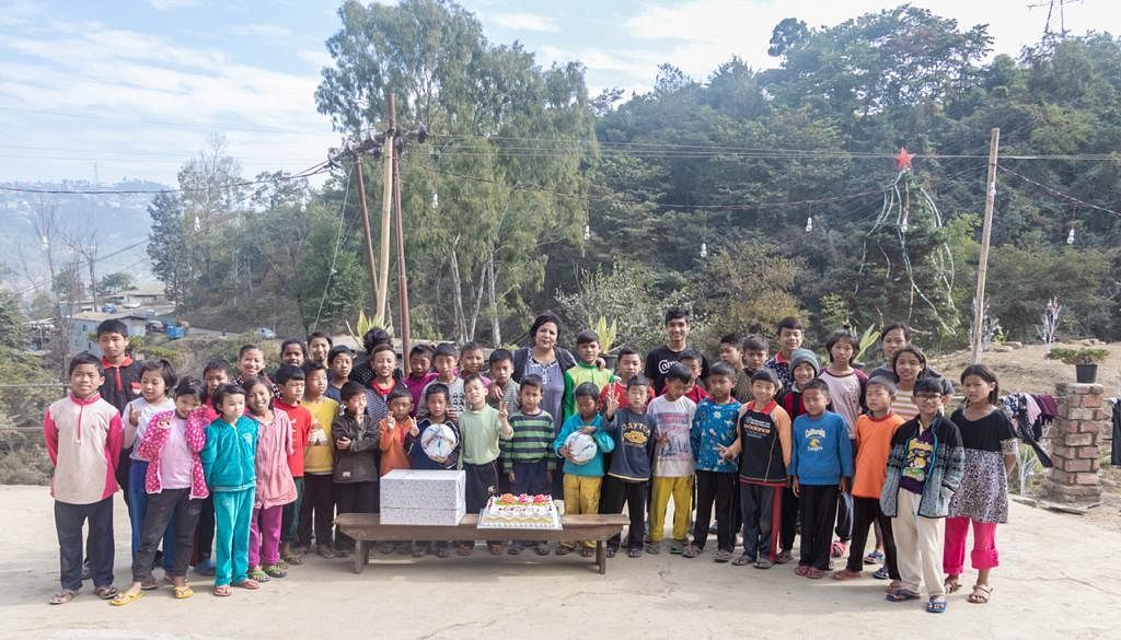 Kohima Orphanage was one of the first places AR Rahman visited during his recent and maiden visit to Nagaland