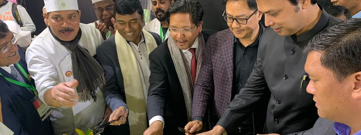 North East Food Show 2019 concluded with a chief ministers' conclave in Shillong, Meghalaya on Friday