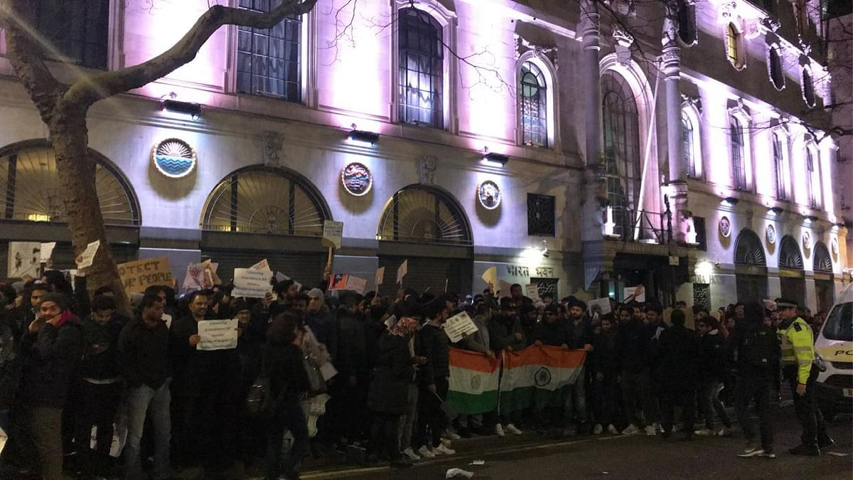 IN PHOTOS | London comes out to protest Citizenship Amendment Act