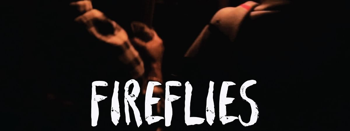 A publicity poster of the film 'Fireflies'