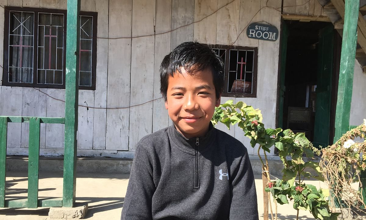 At just 12 yrs, this Manipur boy is all set to take Class X boards