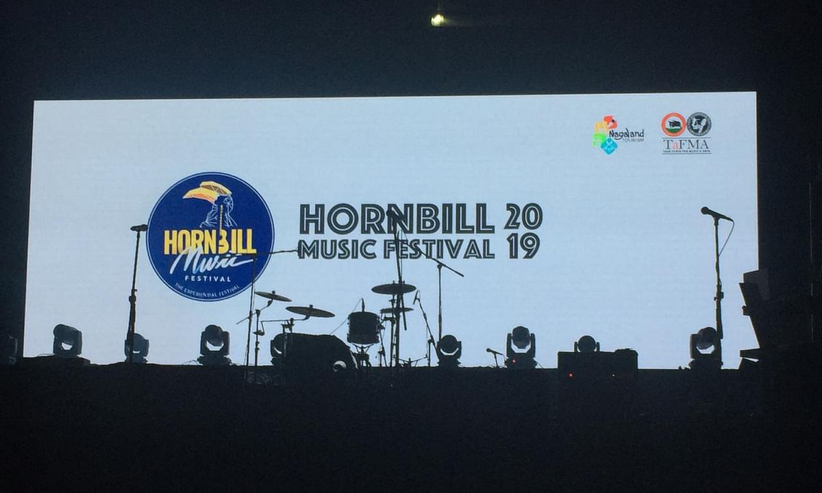 Nagaland: Hornbill Music Festival 2019 gets underway in Dimapur