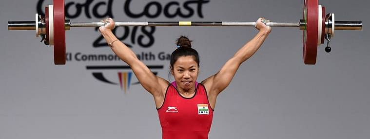 Saikhom Mirabai Chanu won a gold in the women's 49 kg category