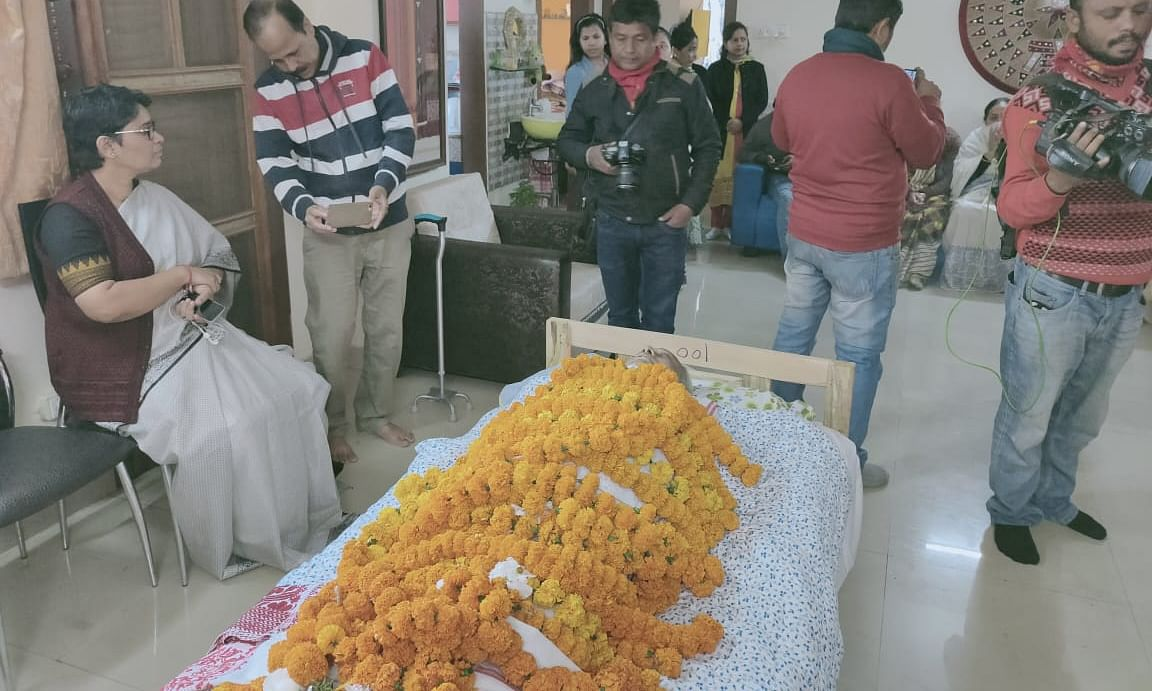 People from different sections of society have condoled the death of Ratna Ojha
