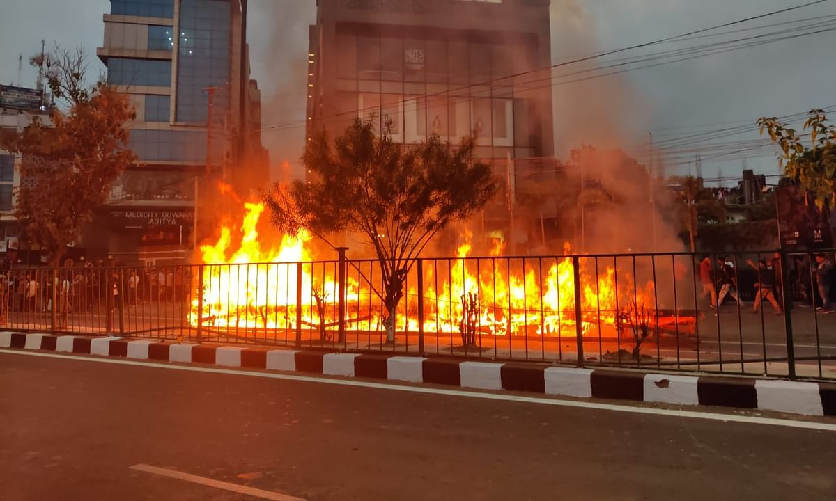 IN PHOTOS | CAB chaos in Guwahati: The day the city in Assam burnt