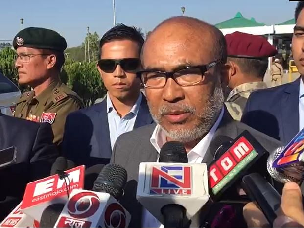 Central leaders won't interfere in the affairs of Manipur govt: CM