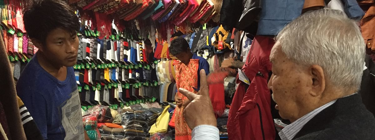 The Bhutani Market in Agartala offers all kinds of woollen clothes under one roof