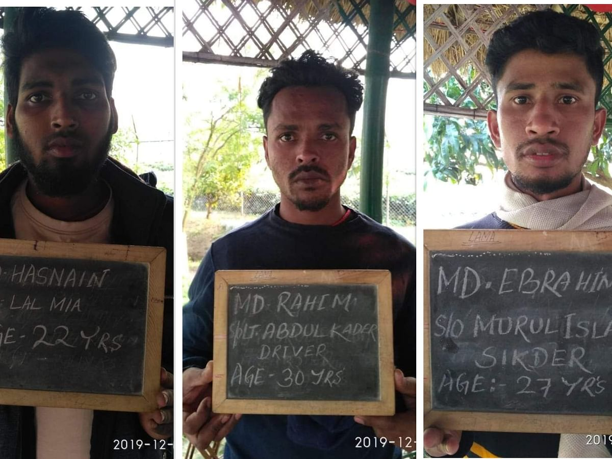 3 illegal immigrants from Bangladesh arrested in Darjeeling