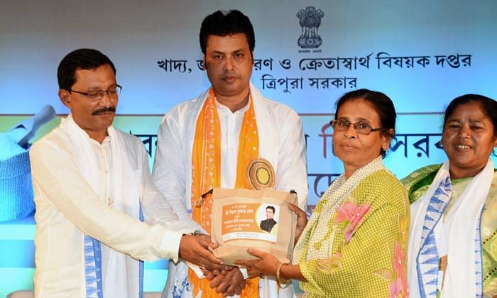 Tripura becomes 1st NE state to launch portable rationing system
