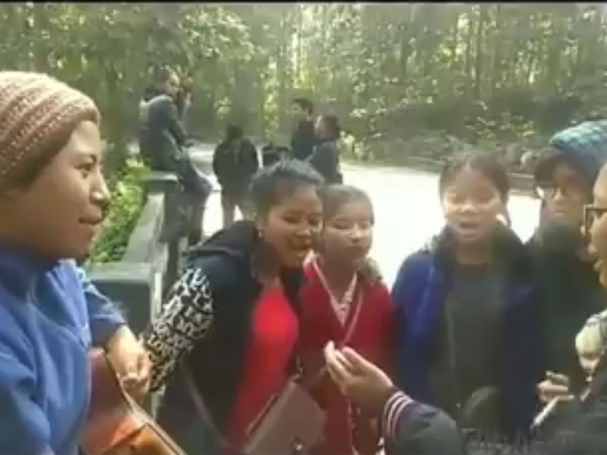WATCH | Meghalaya women sing revolutionary Assamese song