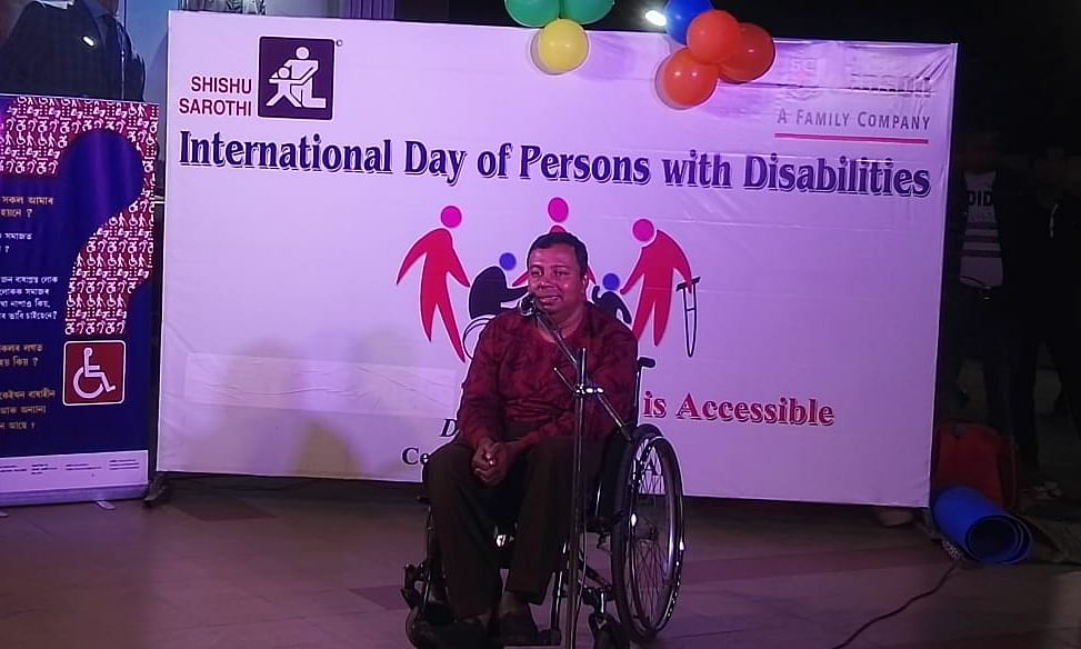 Assam: Shishu Sarothi celebrates day of persons with disabilities