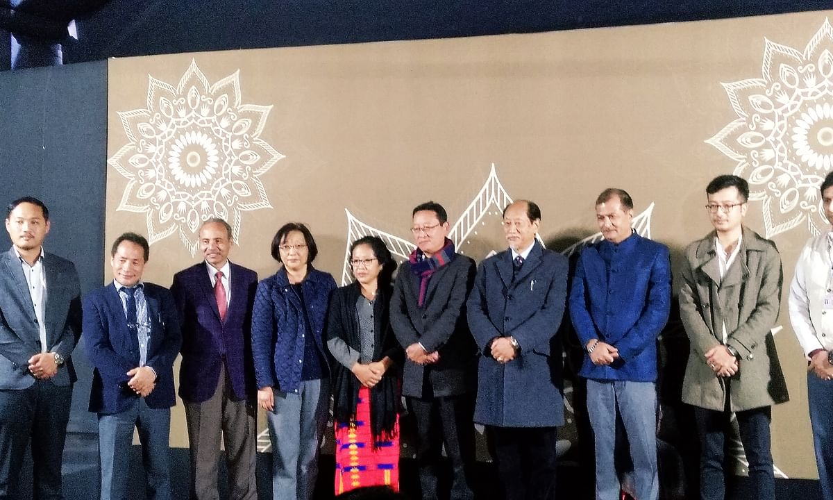 'Nagaland's  Gandhi' family felicitated at Hornbill Festival