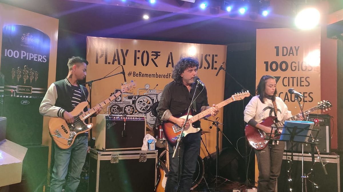 Meghalaya: Soulmate plays for a cause, remembers Ksan mine tragedy