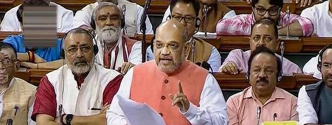 Home minister Amit Shah tables Citizenship (Amendment) Bill, 2019 in Lok Sabha
