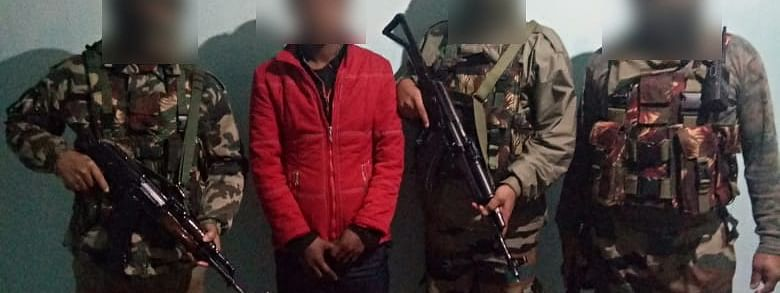 The KYKL rebel was arrested in Kakching district of Manipur during a search operation by security forces