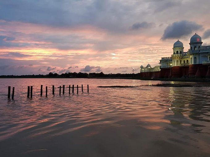 The 'lake palace' of eastern India -- Neermahal
