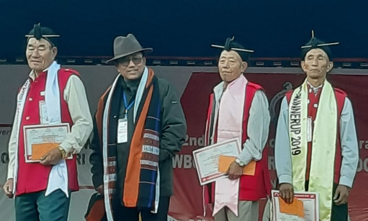 Now, a pageant for 'Mr Gaon Bura' & 'Mrs Gaon Buri' in Arunachal