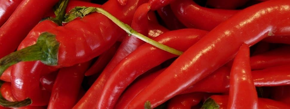 Researchers found that people who consumed the spicy fruit more than four times a week has a 40% less of dying of a heart attack