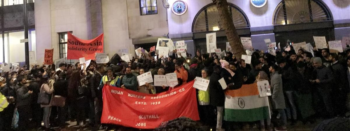 Demonstrators extended their solidarity with the students who have stood ground and protested against CAA