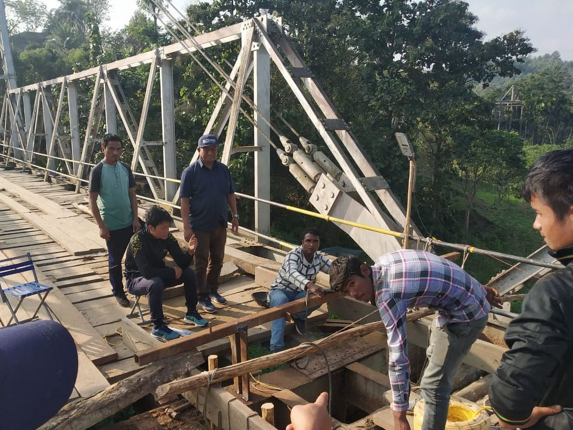 Mizoram's south-western belt cut off as bridge partially collapses