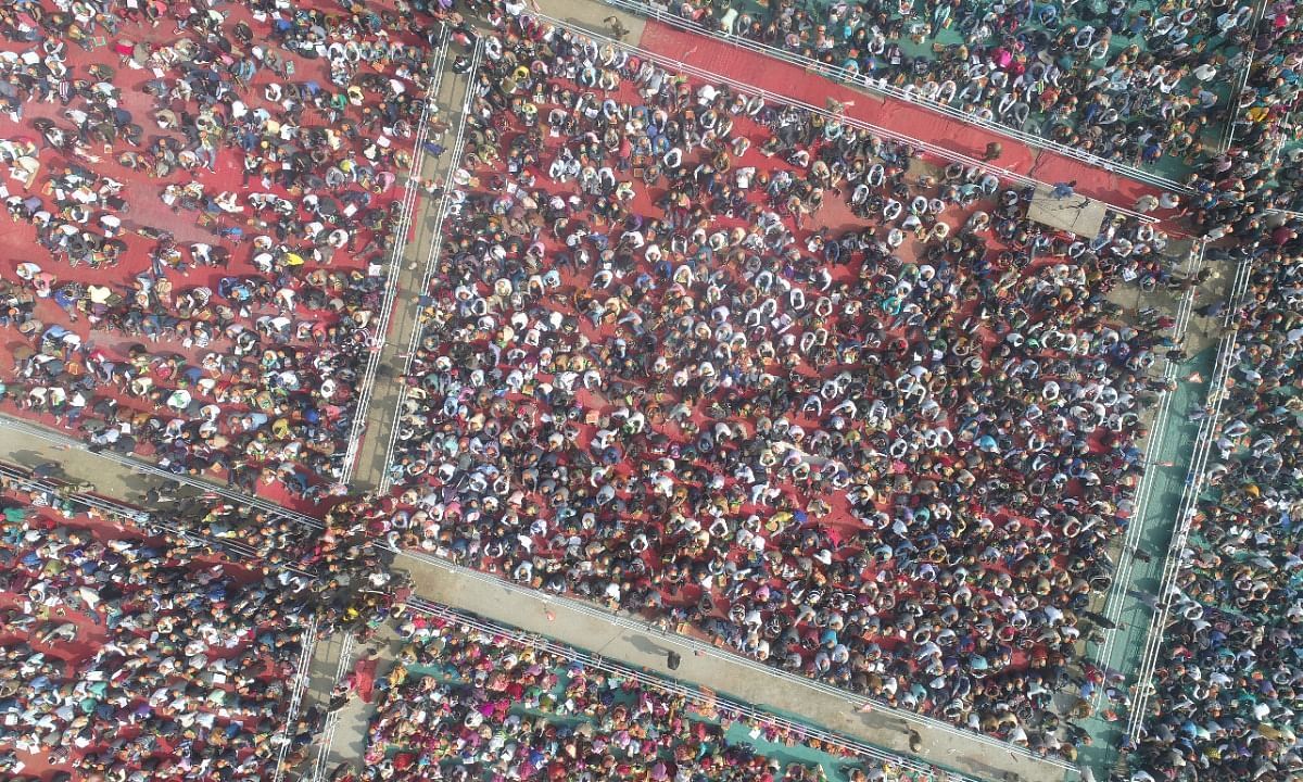 Guwahati witnesses record-breaking crowd at BJP booth-level  meet