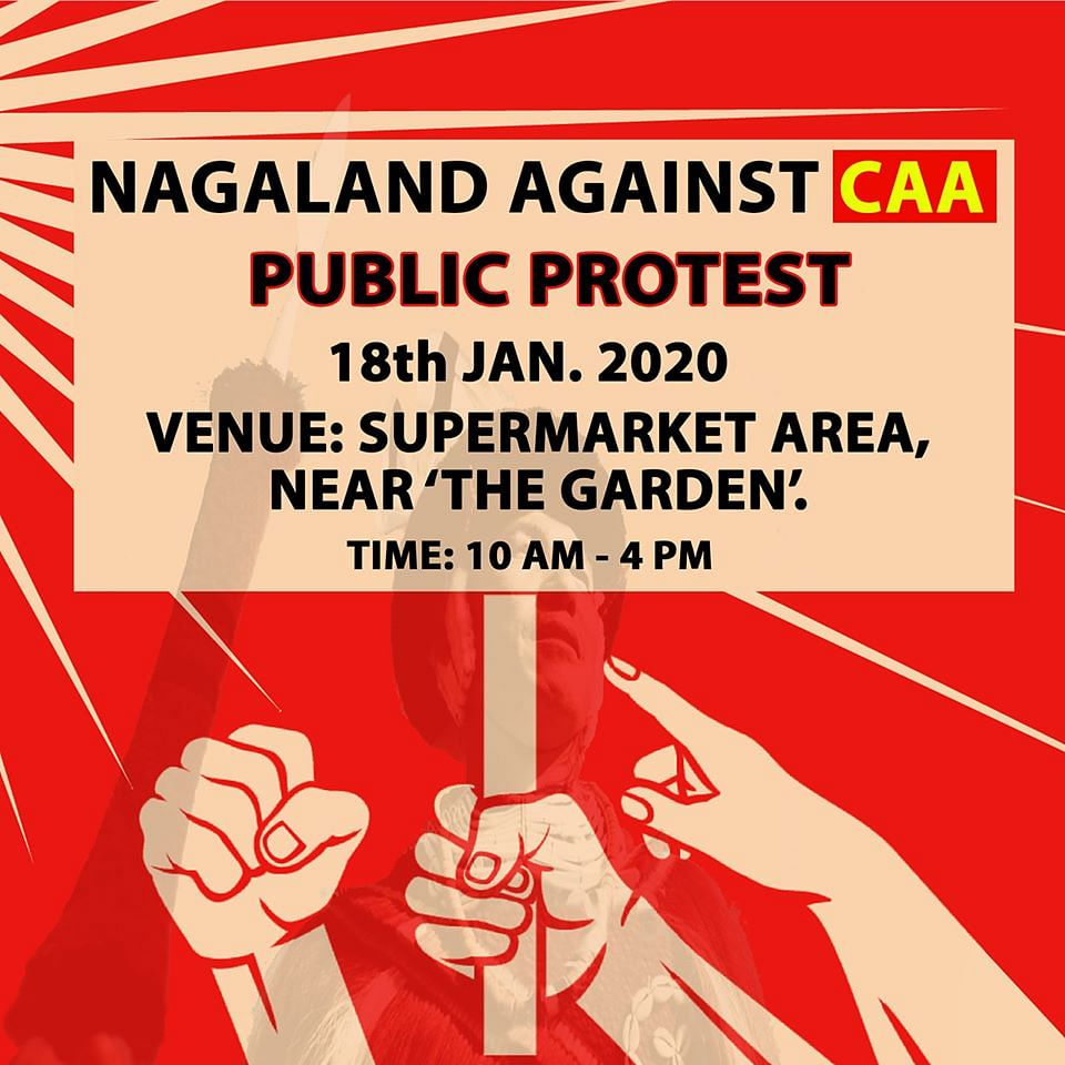 'Nagaland Against CAA' was formed on Facebook on January 6. It has already garnered 17,546 members and counting