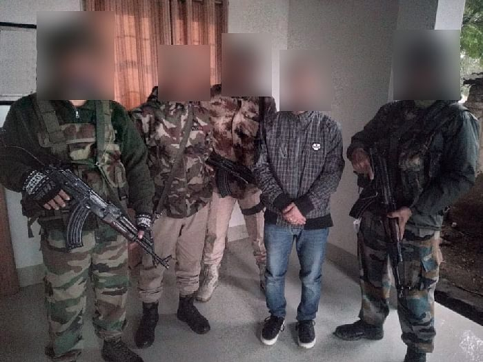 3 members of Manipur-based militant outfits held in 2 separate ops