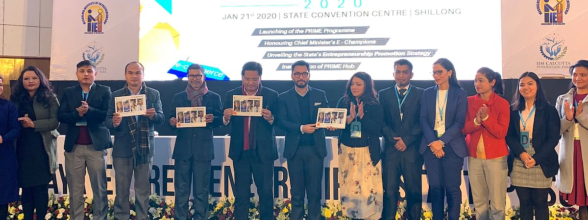 Meghalaya CM Conrad K Sangma launching coffee-table book and documentary film on 'Aspire Meghalaya'