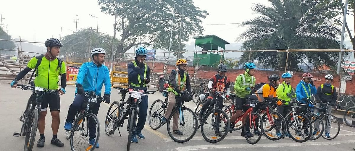 11 randonneurs participated in the BRM long endurance cycling event