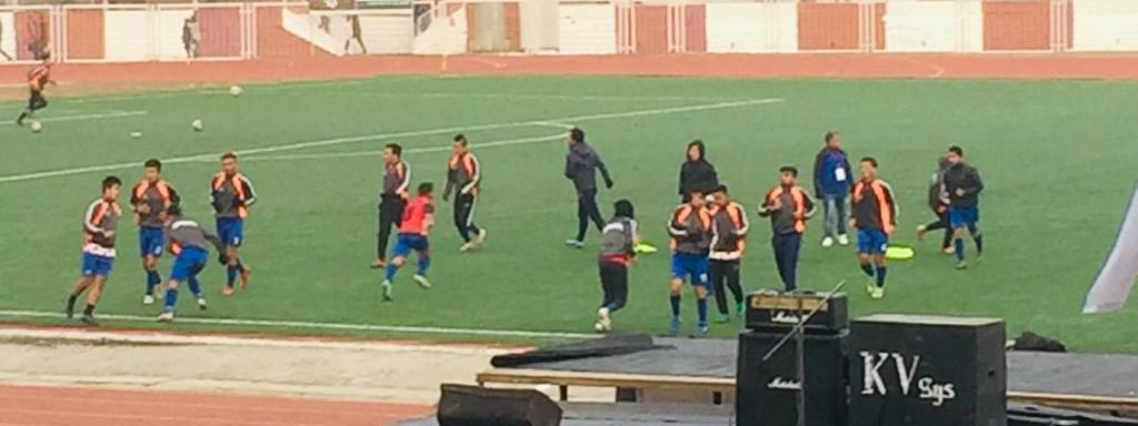 Team Sikkim gearing up for the second semifinal match