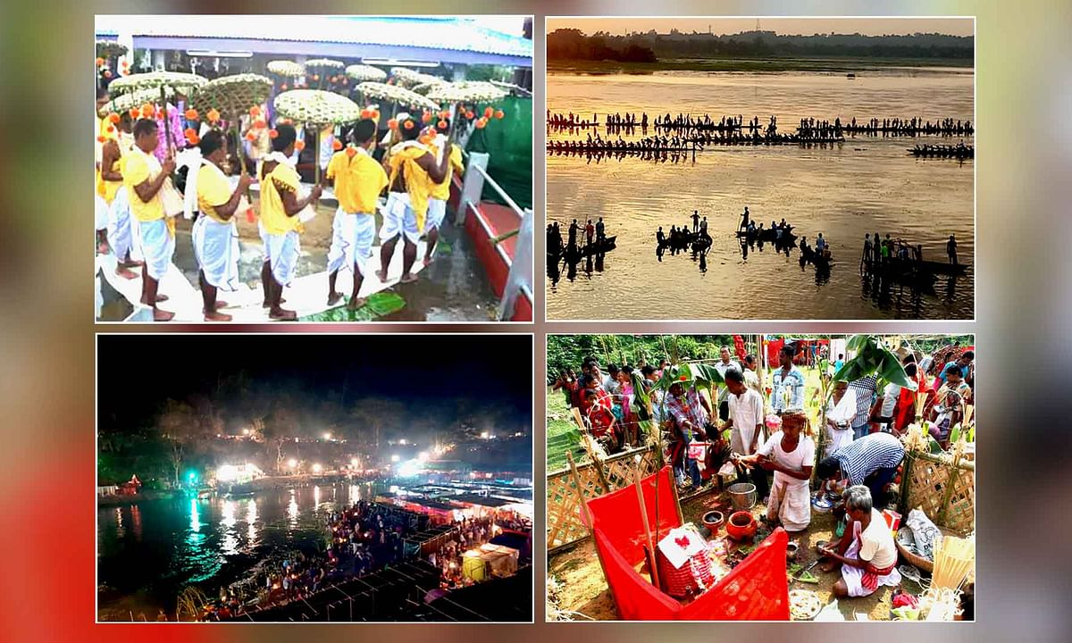 The culture of Tripura is a plethora of Festival