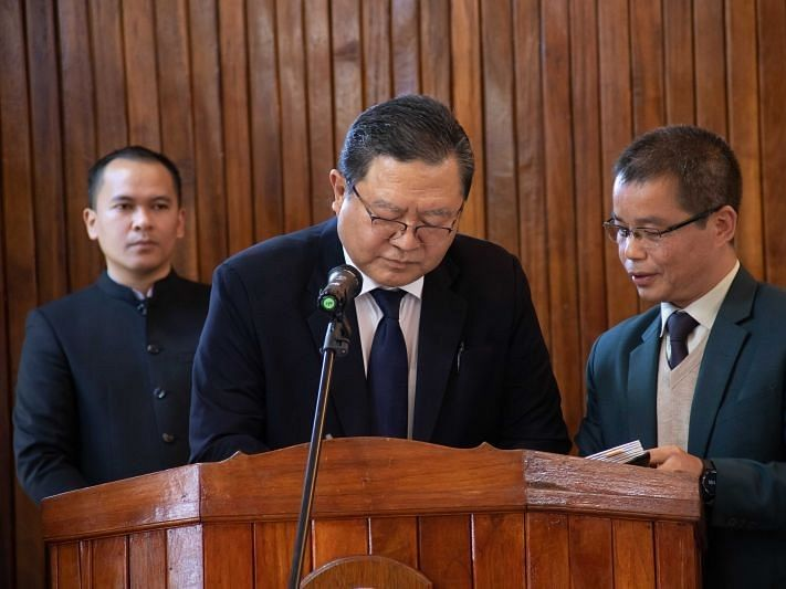 Mizoram: Lalramthanga Tochhawng takes oath as new MPSC chairman