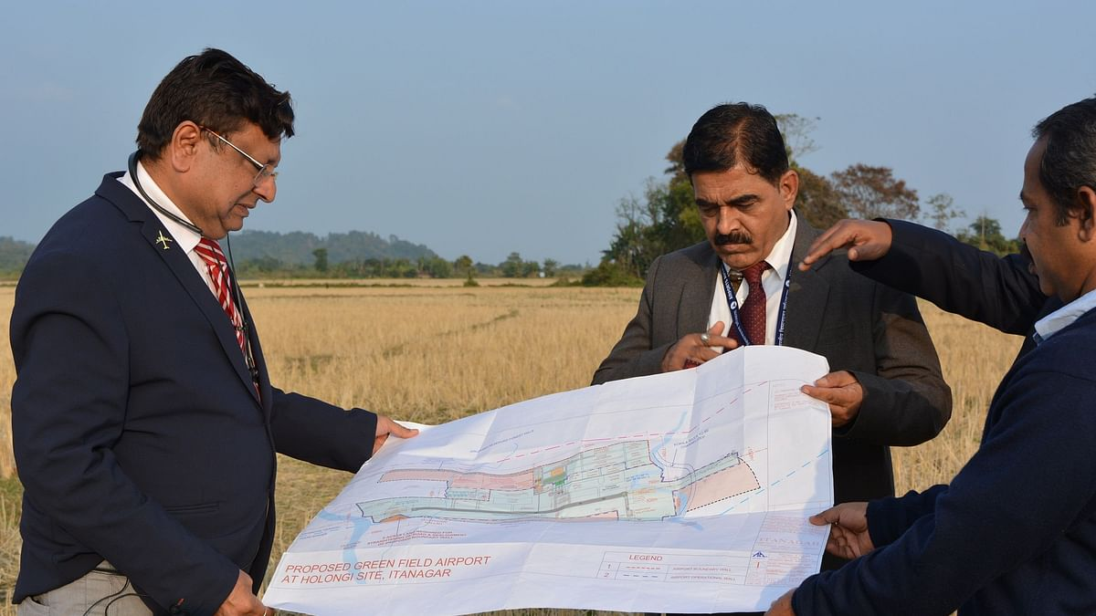 Construction of Arunachal's Hollongi airport to start by February
