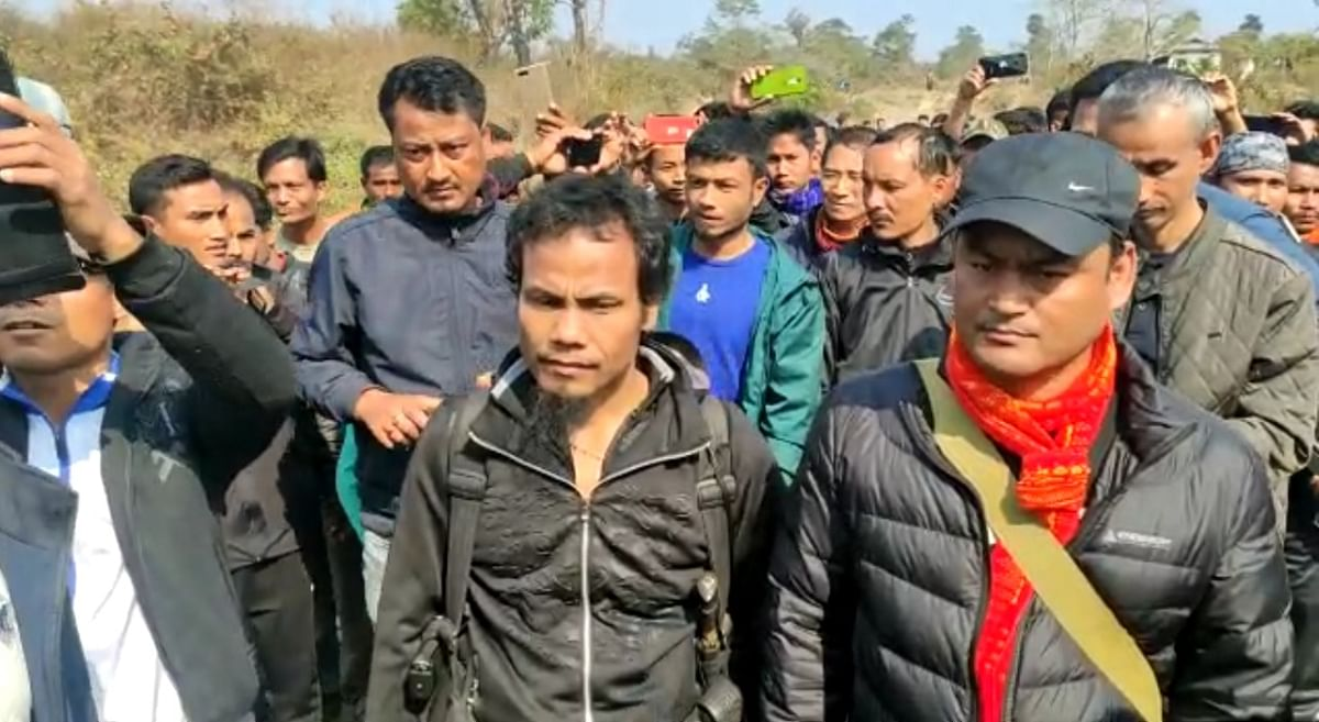 Tapuban Gohain, 23, went 'missing' from Jerai gaon -- the native village of ULFA-I supremo Paresh Baruah -- in Assam's Dibrugarh district