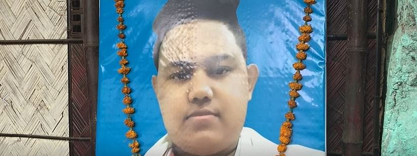 Sam Stafford, 17, was shot dead in police firing at Guwahati's Hatigaon locality on December 13, 2019