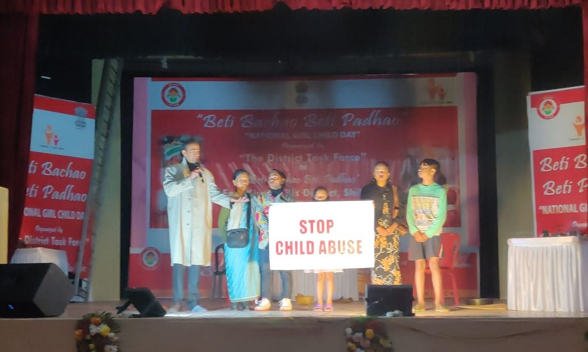 Meghalaya: National Girl Child Day celebrated in Shillong