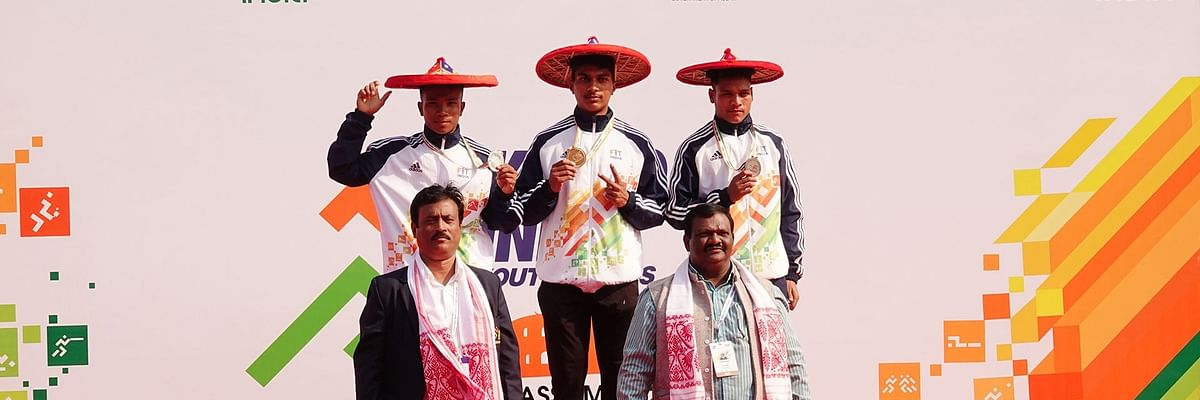 Khelo India: Inspired by Hima Das, Assam's Akshay Boro wins silver