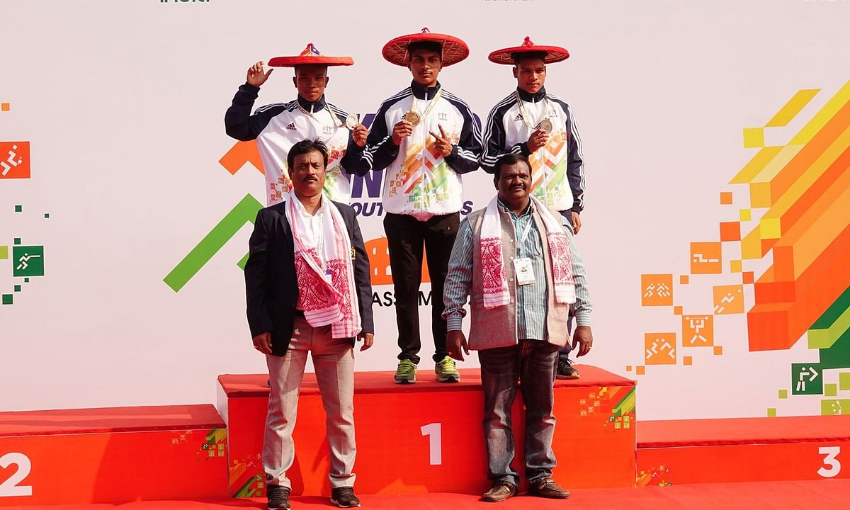 Akshay Boro wins silver at Khelo India in U17 200m sprint