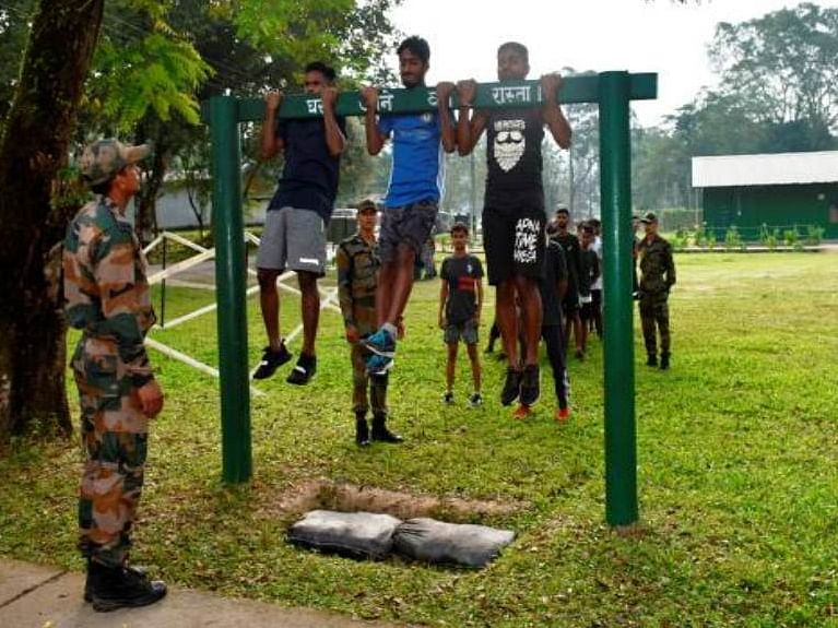 Patriotism challenge: How Indian Army preps would-be recruits