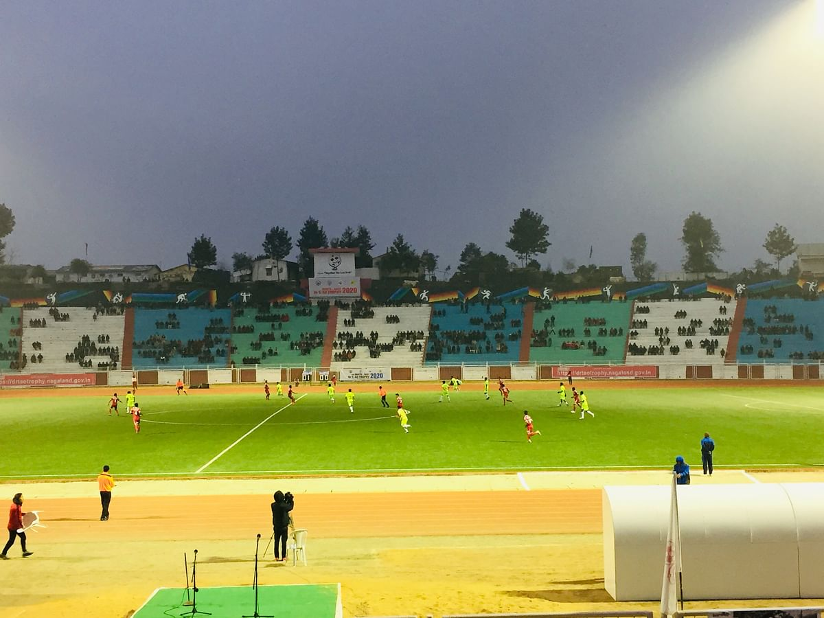 North East Dr T Ao Trophy: Nagaland vs Manipur   WATCH LIVE
