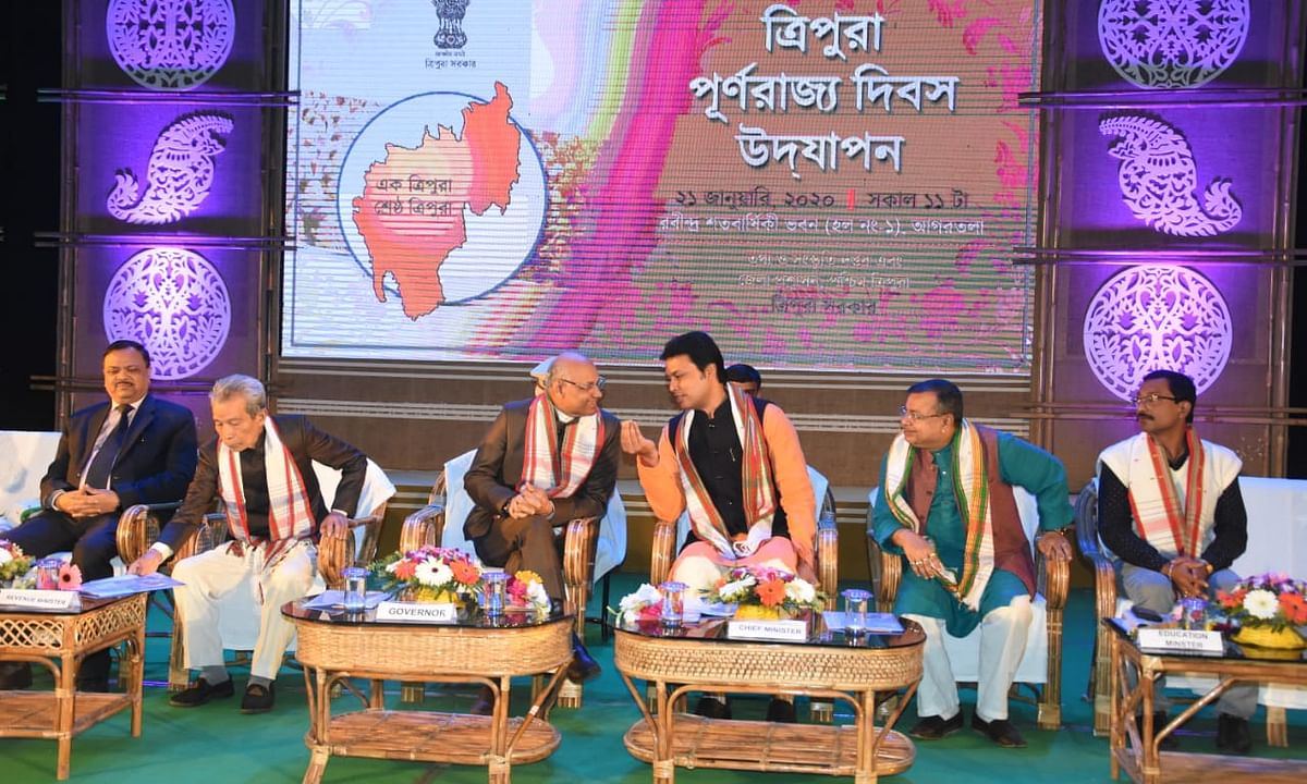 Needs of people yet to be fulfilled: Tripura CM on Statehood Day