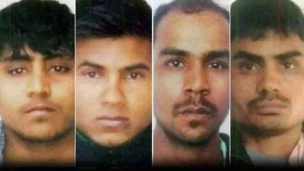 The four convicts in the 2012 Nirbhaya gangrape case