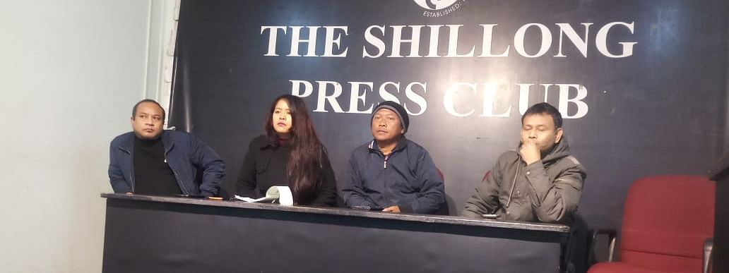 Media fraternity in Shillong convened a meeting