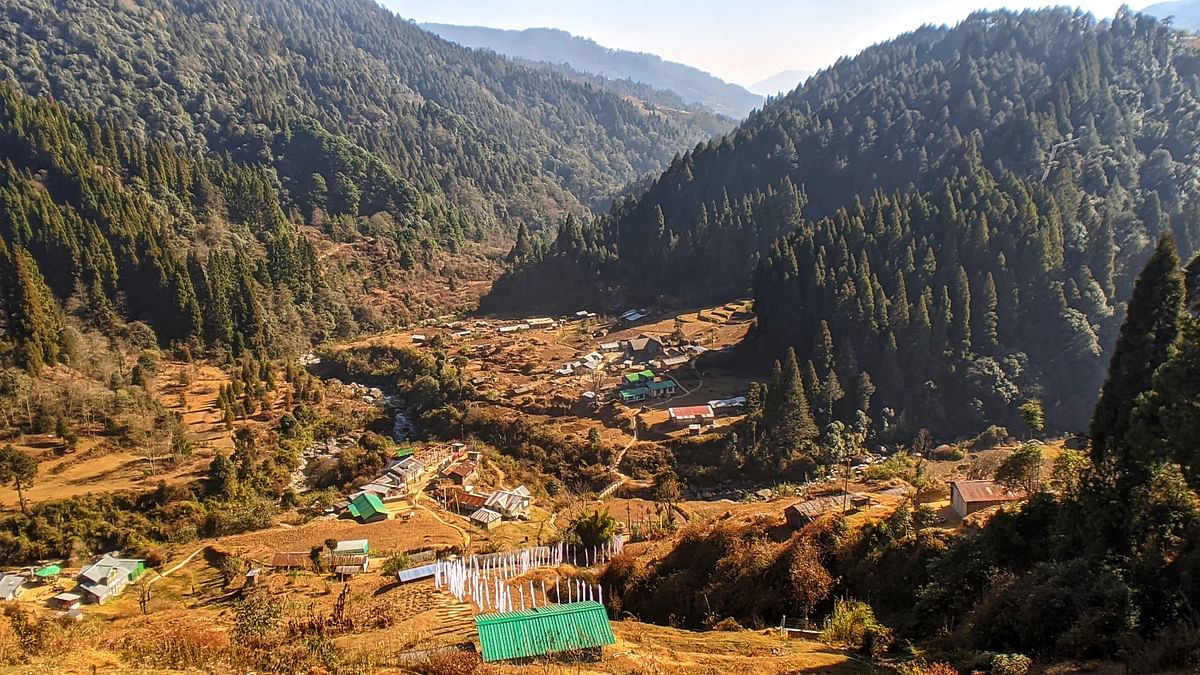 The picturesque Gorkhey Village