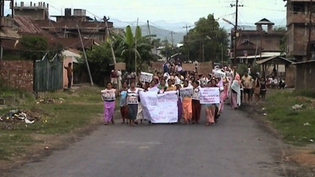 From 2004 to 2007, following the mothers' protest, there was a series of military operations in Manipur