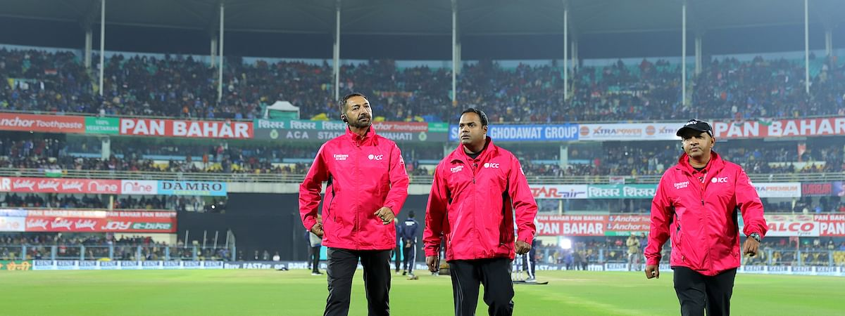 The first T20I match between India and Sri Lanka was abandoned due to rain in Guwahati, Assam on Sunday