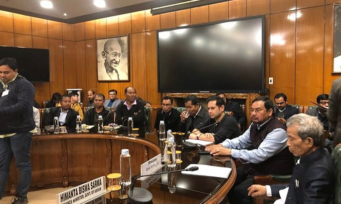 A quadripartite agreement was signed between governments of Tripura and Mizoram, leaders of Bru organisations and the Centre in New Delhi on Thursday