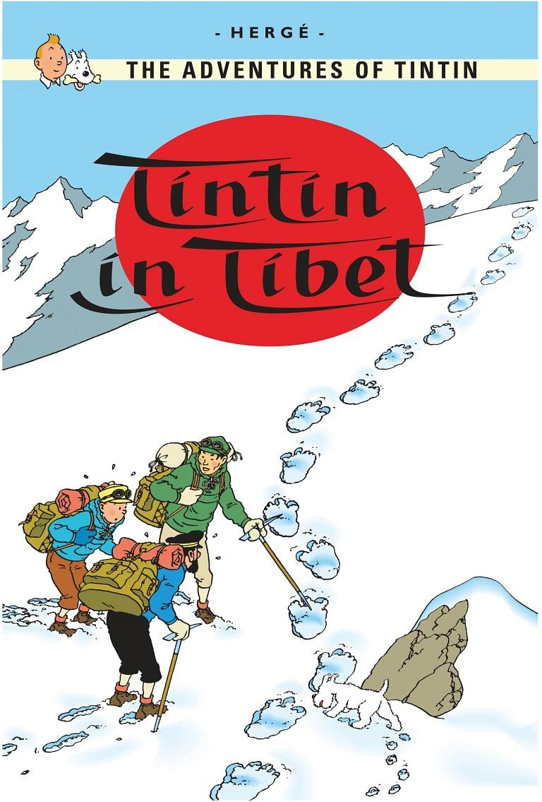 'Khangchendzonga: Sacred Summit' states that d'Auvergne's accounts COULD have been the inspiration for Herge's 'Tintin in Tibet'